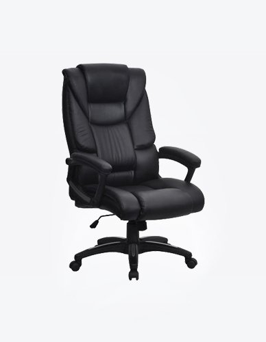 Executive Chair in Black Colour and Matt Finish