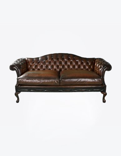 Buttoned 2 Seater Sofa