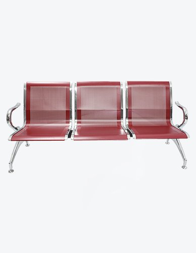 Airport Chair 3 Seater (Maroon)
