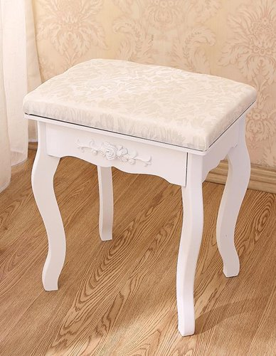 Kid Furniture Pouffe Storage Small Chair