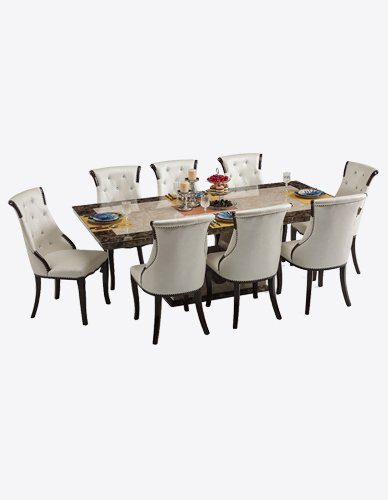 Granite Top Dining Set